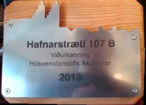 Viðurkenning húsverndarsjóðs 2013